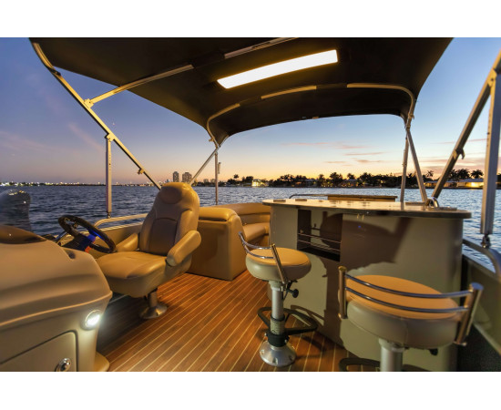 Pontoon - Remplacement Toile Bimini Top